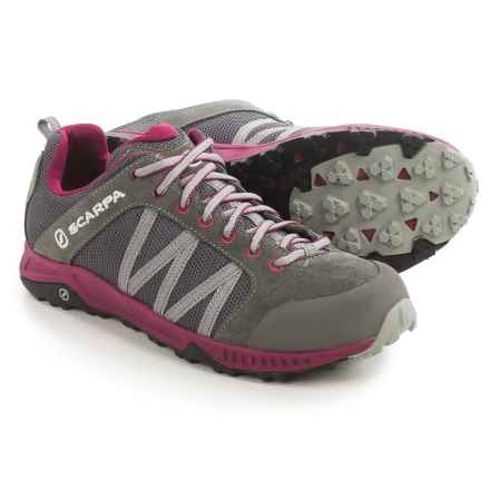 Scarpa Rapid LT Hiking Shoes (For Women) in Pewter/Raspberry - Closeouts