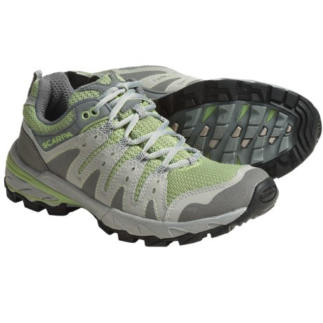 Scarpa Raptor Trail Running Shoes (For Women) in Aloe/Ash