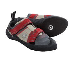 Scarpa Reflex Climbing Shoes (For Men and Women) in Smoke/Parrot - Closeouts