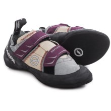 Scarpa Reflex Climbing Shoes (For Women) in Pewter/Plum - Closeouts