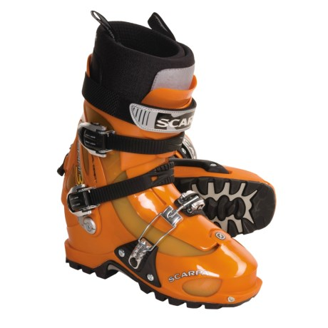 Scarpa Spirit 3 AT Ski Boots (For Men and Women) in Orange