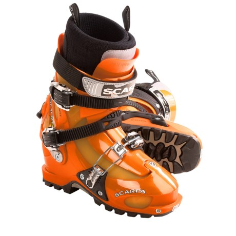 photo: Scarpa Spirit 3 alpine touring boot