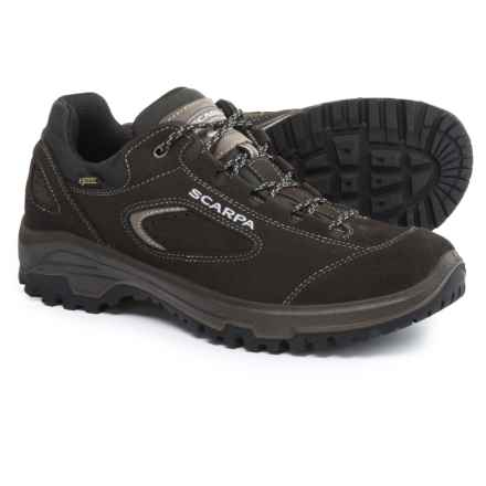 Scarpa Stratos Gore-Tex® Hiking Shoes - Waterproof (For Men) in Dark Gray - Closeouts