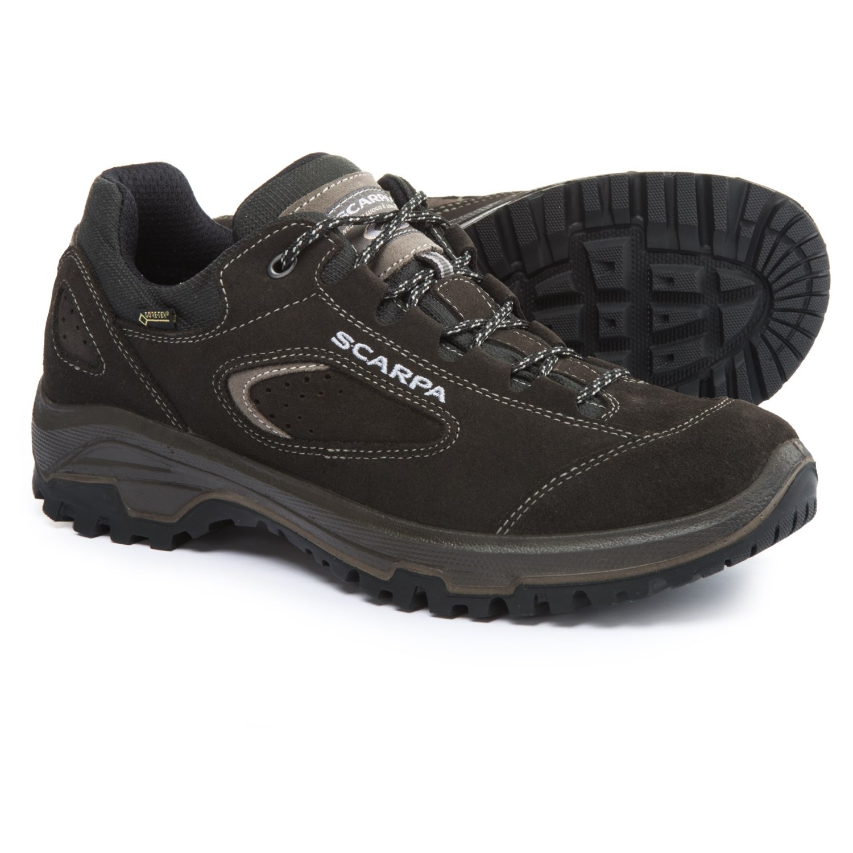 Scarpa Stratos Gore-Tex® Hiking Shoes - Waterproof (For Women) in Dark 7c0ca6c97