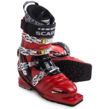 Scarpa T-Race Telemark Ski Boots (For Men and Women) in Red/Black - Closeouts