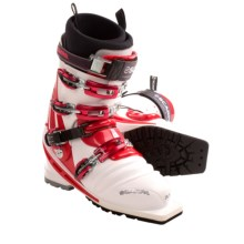 Scarpa T-Race Telemark Ski Boots (For Men and Women) in White - Closeouts