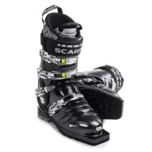 Scarpa T1 Telemark Ski Boots (For Men) in Anthracite/Black - Closeouts