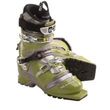 Scarpa T2 Eco Telemark Ski Boots (For Men) in Green - Closeouts