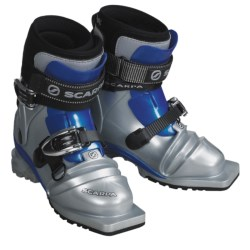 Scarpa T3 Lady Telemark Ski Boots - 75mm (For Women) in Silver