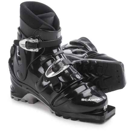 Scarpa T4 Telemark Ski Boots (For Men) in Black - Closeouts