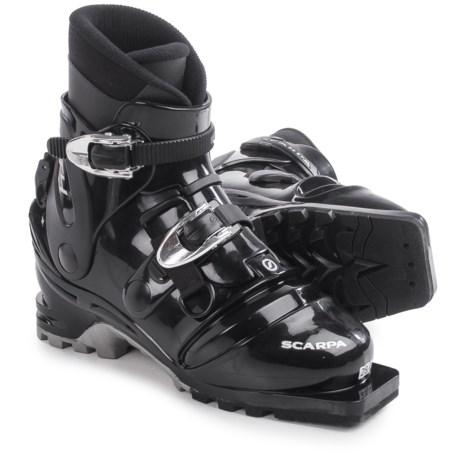 Scarpa T4 Telemark Ski Boots (For Men) in Black