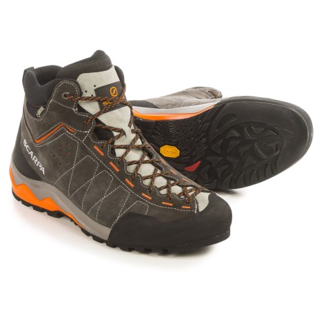 Scarpa Tech Ascent Gore-Tex® Hiking Boots - Waterproof (For Men) in Shark/Tonic