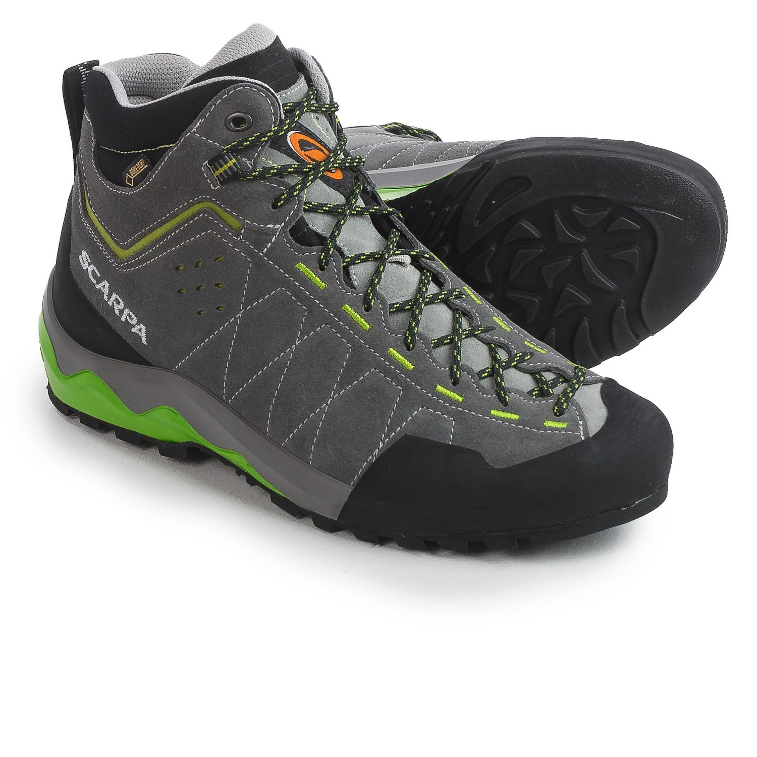 Scarpa Tech Ascent Gore-tex U00ae Hiking Boots  For Men