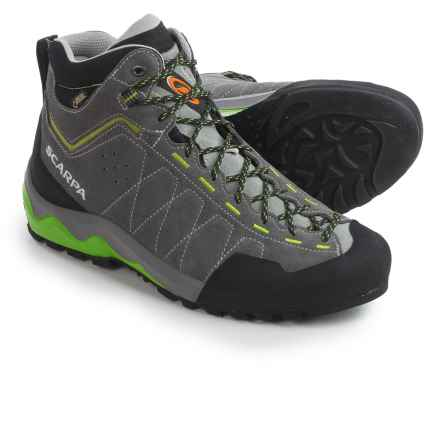 Scarpa Tech Ascent Gore-Tex® Hiking Boots - Waterproof (For Men) in Shark - Closeouts