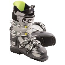 Scarpa Tempest Alpine Touring Ski Boots (For Men and Women) in Anthracite/Silver - Closeouts