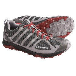 Scarpa Tempo Trail Running Shoes (For Men) in Smoke
