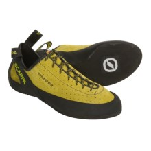 Scarpa Thunder Climbing Shoes (For Men) in Yellow - Closeouts