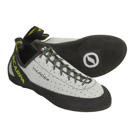Scarpa Thunder Climbing Shoes (For Women) in Ice