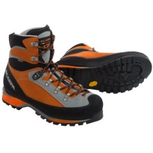 Scarpa Triolet Gore-Tex® Mountaineering Boots - Waterproof (For Men and Women) in Orange - 2nds