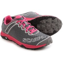 Scarpa TRU Trail Running Shoes (For Women) in Grey/Pink - Closeouts