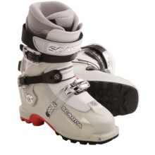 Scarpa Vanity TLT AT Ski Boots (For Women) in Silver - Closeouts
