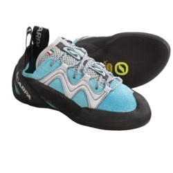 Scarpa Vapor Climbing Shoes (For Women) in Turquoise