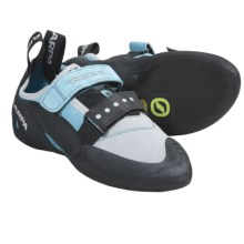 Scarpa Vapor V - XS Grip2 Climbing Shoes (For Women) in Turquoise - Closeouts