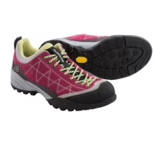 Scarpa Zen Pro Hiking Shoes - Suede (For Women) in Cherry/Lime - Closeouts