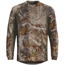 Scent-Lok® Ambush Carbon Alloy Top - Lightweight, Long Sleeve (For Big Men) in Realtree Ap - Closeouts