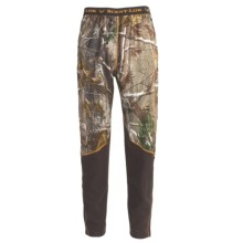 Scent-Lok® BaseSlayer Carbon Alloy Camo Bottoms - Midweight (For Men) in Realtree Ap - Closeouts