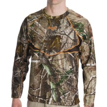 Scent-Lok® BaseSlayer Carbon Alloy Camo Top - Midweight (For Men) in Realtree Ap - Closeouts