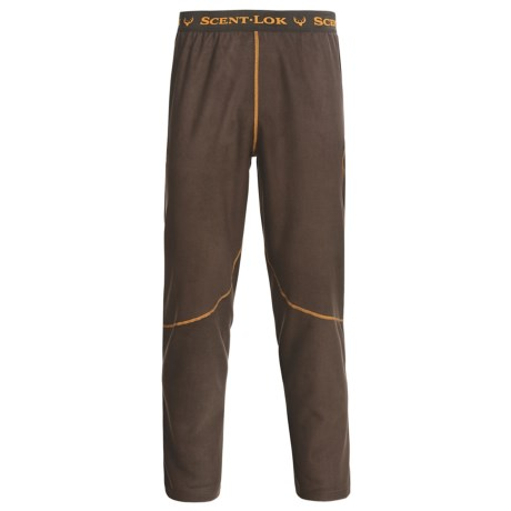 Scent-Lok® BaseSlayers Bottoms - Midweight (For Men) in Bison