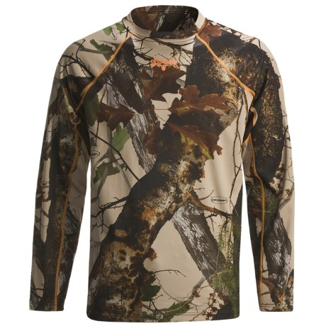 Scent-Lok® BaseSlayers Camo Top - Lightweight, Long Sleeve (For Men) in Vertigo Tan