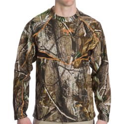 Scent-Lok® BaseSlayers Camo Top - Midweight, Long Sleeve (For Men) in Realtree Ap Hd