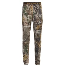 Scent-Lok® BaseSlayers Carbon Alloy Camo Bottoms - Lightweight (For Men) in Realtree Ap - Closeouts