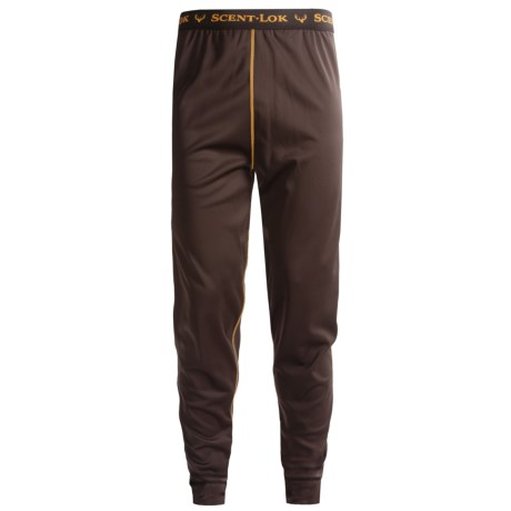 Scent-Lok® BaseSlayers Long John Bottoms - Lightweight (For Men) in 053 Bison
