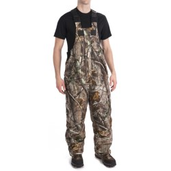 Scent-Lok® Carbon Alloy ThunderTek Cyclone Bib Overalls - Insulated (For Big Men) in Realtree Ap