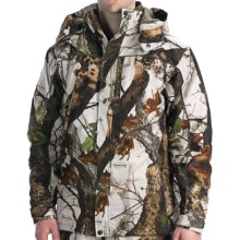 Scent-Lok® Carbon Alloy ThunderTek Cyclone Convertible Parka - 3-in-1, Waterproof (For Big Men) in Vertigo Grey - Closeouts