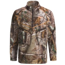 Scent-Lok® ExoCore Jacket - Zip Neck (For Men) in Realtree Ap Hd - Closeouts
