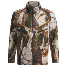 Scent-Lok® ExoCore Jacket - Zip Neck (For Men) in Vertigo Grey - Closeouts