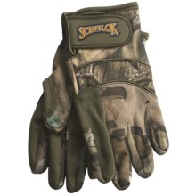 Scent-Lok® Midweight Carbon Alloy ClimaFleece Gloves (For Men) in Mossy Oak Infinity - Closeouts