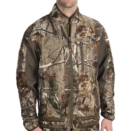 Scent-Lok® Mirage Carbon Alloy Jacket - Lightweight (For Men) in Realtree Ap