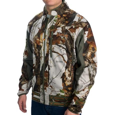 Scent-Lok® Mirage Carbon Alloy Jacket - Lightweight (For Men) in Vertigo Grey