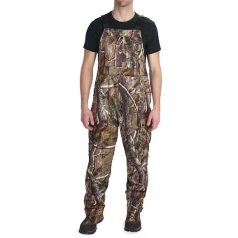 Scent-Lok® Savanna Carbon Alloy 7-Pocket Bib Overalls (For Men) in Realtree Ap