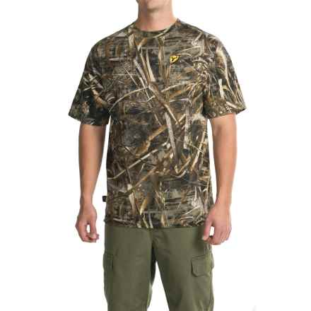 ScentBlocker S3 Fused Cotton T-Shirt - Crew Neck, Short Sleeve (For Men) in Realtree Max-5 - Closeouts