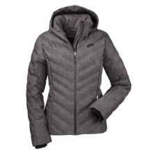 Schoffel Meribel Down Jacket - Waterproof, 650 Fill Power (For Women) in Grey - Closeouts