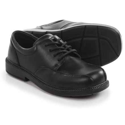 School by Umi Cliffton 2 Dress Shoes (For Little and Big Boys) in Black - Closeouts