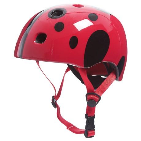 Schwinn Burst Ladybug Multi-Sport Helmet (For Toddlers) in Red