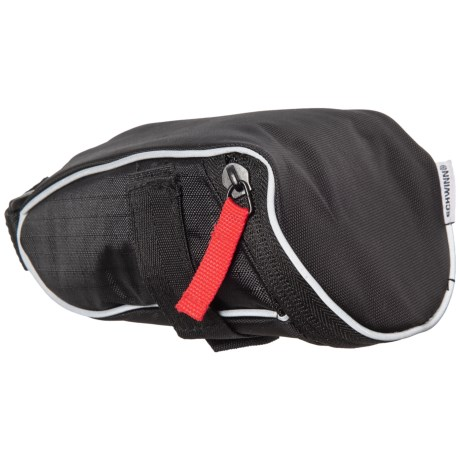 Schwinn Reflective Wedge Seat Bag in Black