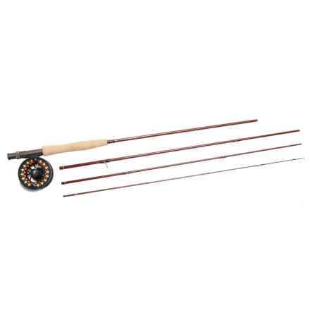 Scientific Anglers Ampere Fly Rod and Reel Outfit with Tube - 4-Piece in Black - Closeouts